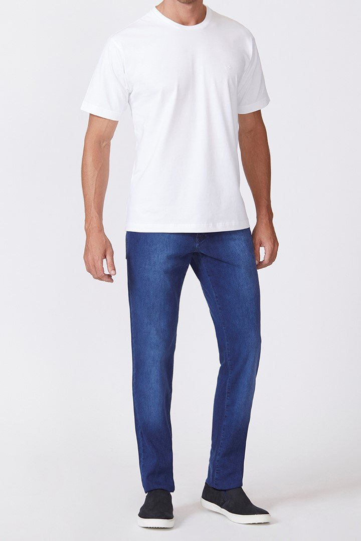 Calça Jeans Slim Brooks Gold